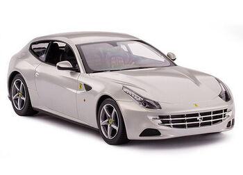 Радиоуправляемая машина Rastar 46700 Ferrari FF 1:24, цвет серебряный 27MHZ