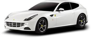 Радиоуправляемая машина Rastar 46700 Ferrari FF 1:24, цвет белый 40MHZ