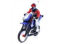 Радиоуправляемый мотоцикл HuanQi 528 Special Сross-Сountry 1:10 с гироскопом