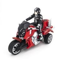Радиоуправляемый красный мотоцикл Yuan Di Трицикл 1:10 - YD898-T57-R