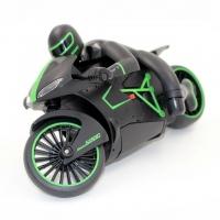 Радиоуправляемый черно-зеленый мотоцикл ZC333 4CH 1:12 2.4G - 333-MT01A-G