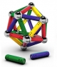 Магнитный конструктор MAGNETICUS 88 элементов, разноцветный