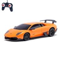 Машина радиоуправляемая Lamborghini Murcielago, масштаб 1:24, работает от батареек, свет