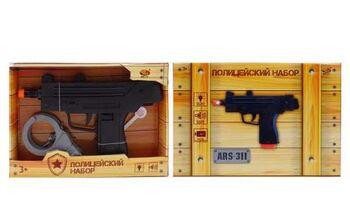 Пистолет ARS-307 световые и звуковые эффекты