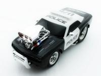 Радиоуправляемая полицейская машина из серии Muscle Сar с гоночным Мотором 1/16 свет и звук