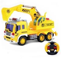 Радиоуправляемый грузовик - экскаватор 1:16 - WY1003