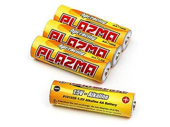 Батарейки - HPI Plazma 1.5V Alkaline AA (4шт) HPI Plazma 1.5V Alkaline AA Battery (4Pcs) для моделей
