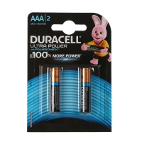 Батарейка алкалиновая Duracell UltraPower, ААА, LR03-4BL, 2 шт