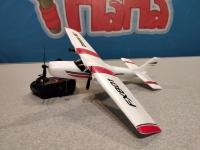 Радиоуправляемый самолет FX801 (EPP) Cessna 182 для начинающих 2.4G