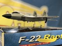 Радиоуправляемый самолет-истребитель пятого поколения F-22 Raptor (EPP) 2.4G для начинающих