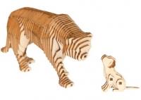 Конструктор деревянный Параметрический Львица со львенком