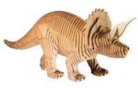 Конструктор деревянный Параметрический Трицератопс