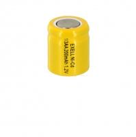 Аккумулятор Ni-Cd 1/3 AA 1.2v 200mah Flat Top (1 шт)