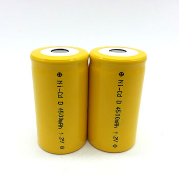 Аккумулятор Ni-Cd D 1.2v 4500mah Flat Top (1 шт)