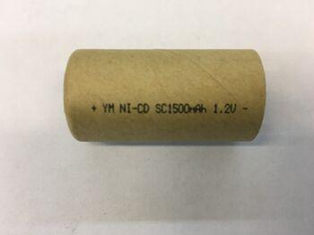 Аккумулятор Ni-Cd SC 1.2v 1500mah (1 шт)