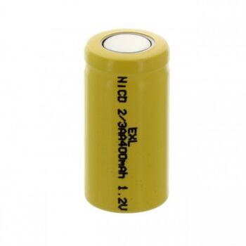 Аккумулятор NiCd 2/3AАА 1.2V 400mAh Flat Top (1шт)