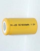 Аккумулятор NiCd SC 1.2V 1800mAh Flat Top (1шт)