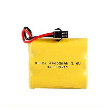 Аккумулятор Ni-Cd 3.6v 600mah форма Flatpack разъем YP