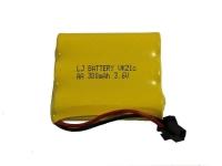 Аккумулятор Ni-Cd 3.6v 300mah форма Flatpack разъем YP