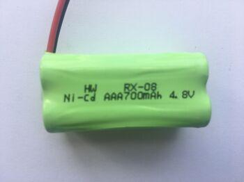 Аккумулятор Ni-Cd AAA 4.8v 700mah форма ROW разъем YP