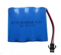 Аккумулятор Ni-Cd AA 4.8v 1400mah форма Flatpack разъем YP