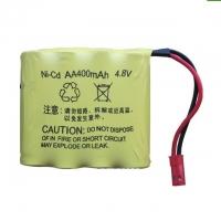 Аккумулятор Ni-Cd 4.8v 400mah форма Flatpack разъем JST