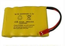 Аккумулятор Ni-Cd 6v 400mah форма Flatpack разъем JST