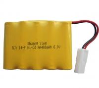 Аккумулятор Ni-Cd 6v 400mah форма Flatpack разъем 5559-2P