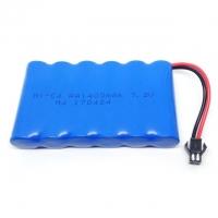 Аккумулятор Ni-Cd 7.2v 1400mah форма Flatpack разъем YP