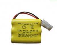 Аккумулятор Ni-Cd 7.2v 400mah форма Row разъем 5559-2P