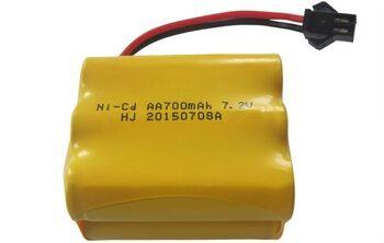 Аккумулятор Ni-Cd 7.2v 700mah форма Row разъем YP