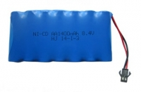 Аккумулятор Ni-Cd 8.4v 1400mah форма Flatpack разъем YP
