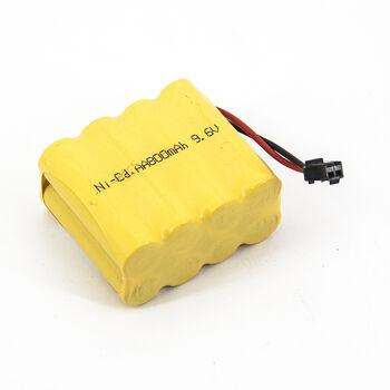 Аккумулятор Ni-Cd 9.6v 800mah форма Row разъем YP