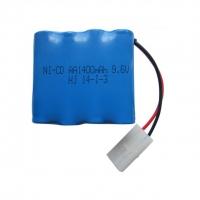Аккумулятор Ni-Cd 9.6v 1400mah форма Row разъем Tamiya