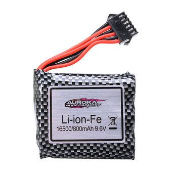 Аккумулятор 16500 Li-Ion-Fe 9.6v 800mah разъем YP6