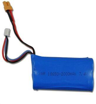 Аккумулятор 18650 Li-Ion 7.4v 2000mah ICR разъем XT30