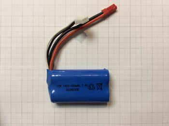Аккумулятор 14500 Li-Ion 7.4v 700mah разъем JST