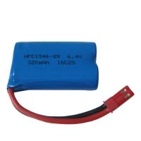 Аккумулятор 13400 Li-Ion 6.4v 320mah HFC разъем JST