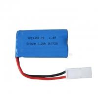 Аккумулятор 14500 Li-Ion 6.4v 500mah HFC разъем EL