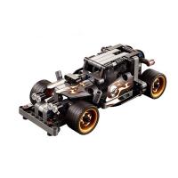 Конструктор DeCool ретро автомобиль с инерционным механизмом, 170 деталей - DL-3417