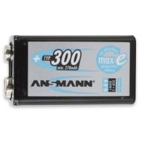 Аккумуляторная батарейка ANSMANN крона E-Block 270mAh BL1 (1шт)