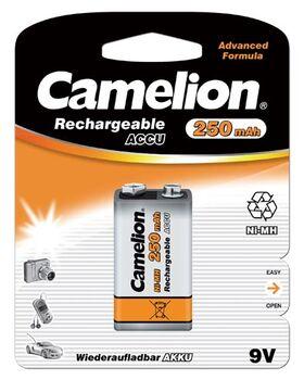 Аккумуляторная батарейка CAMELION крона 250 mAh (1шт)