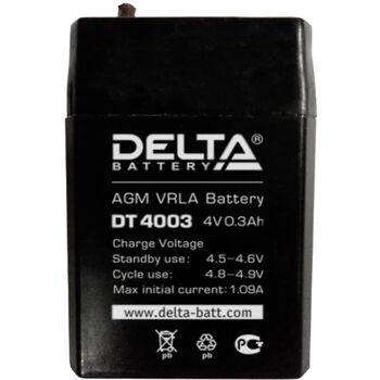 Аккумулятор Pb DELTA 4V 300 mAh DT 4003