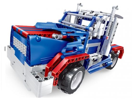 Радиоуправляемый конструктор 2 в 1 - грузовик и джип - QH8006 (455 деталей)