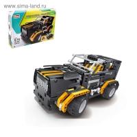 Радиоуправляемый конструктор внедорожник QiHui Black Hums с мотором (509 деталей)