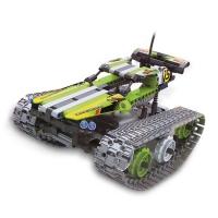 Радиоуправляемый танк вездеход конструктор QiHui Stunt Car (353 детали) - QH8015