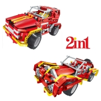 Радиоуправляемый конструктор QiHui Пожарная машина (472 детали) - QH8002