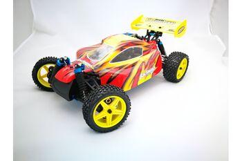 Машина HSP Backwash Nitro Off Road Buggy (WaterProof) 4WD 1:10