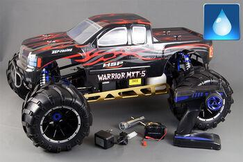 Внедорожник на бензине HSP Skeleton Monster GP 4WD (WaterProof) 1:5