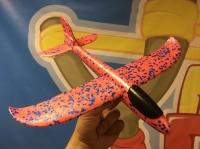 Свободнолетающий метательный самолет Mini Red 30 см